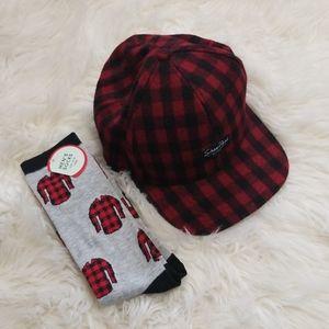 Shaw Park Wool SnapBack & Socks Bundle